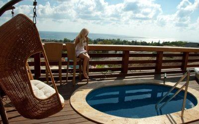 Easy living with beautiful backyard decks