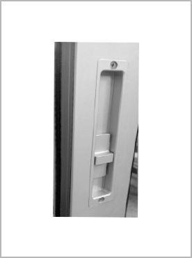 slider door handle