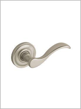 silver swoop door handle